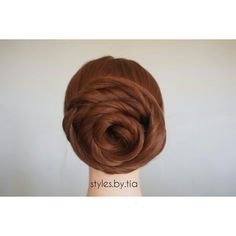 Cinnamon bun updo!  Anyone hungry?  Makes for the most beautiful bridal updo. Instagram@styles.by.tia Bun Updo, Bridal Updo, All Things Beauty, Updos, Cinnamon, Most Beautiful, How To Make, Instagram, Style