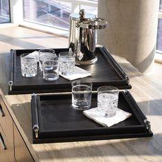 Black Decorative Tray Inspiration Black Tray  Black Trays  Black Wood Tray  Black Wood Trays Design Inspiration