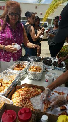 Degustación tienda 16 63 shopping 65 de Infantería Julio 31 del 2015 Paella, Puerto Rico, Pizza, Ethnic Recipes, Food, San Juan, Tent, Activities, Meals