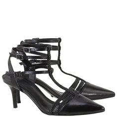 Sapato Salto Médio Schutz Black