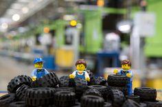 Con 318 millones de unidades anuales, Lego es el mayor fabricante de neumáticos de caucho del mundo por número.