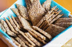 Hjemmelaget knekkebrød | Det søte liv Cinnamon Sticks, Spices, Bread, Recipes, Food, Spice, Eten, Recipies, Ripped Recipes