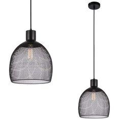 LAMPA wisząca JULIENNE MDM-2544/1 Italux druciana OPRAWA metalowy ZWIS drut czarna