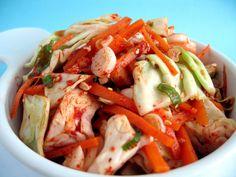 Yangbaechu Kimchi (양배추 김치)  Green Cabbage Kimchi