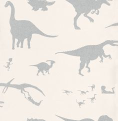 D'ya-think-e-saurus White wallpaper by PaperBoy