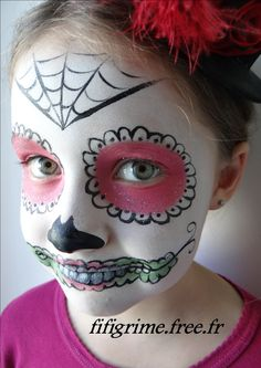 Maquillage artistique enfants adultes face painting for Comidee maquillage halloween adulte