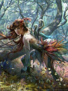 Nilya já foi uma dama comum, mas foi sequestrada e feita de cobaia por um Druida Maligno