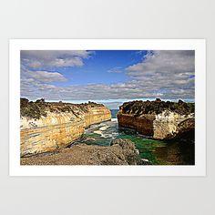 Cliffs, Limestone, Gigantic, Seascape