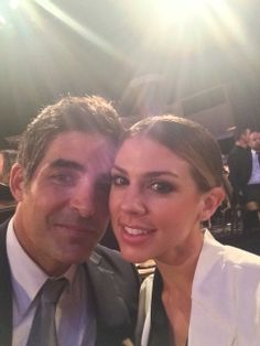 "Galen Gering and Kate Mansi.    Rafe and Abigail.    "" Days  ""."