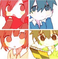 Ayano,Shitarou,Takane&Haruka | Kagerou Project