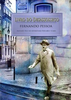 """Capa do livro """"Livro do Desassossego"""" de Fernando Pessoa."""
