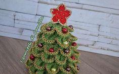 Albero di Natale a uncinetto con petali: i tutorial di Camilla