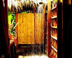 Outdoor shower!