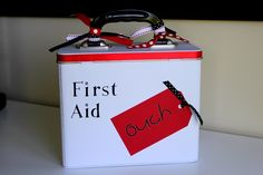 How to make your own super cute first aid kit!