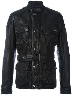 29d6d0518fed Belstaff Belted Leather Jacket - Farfetch