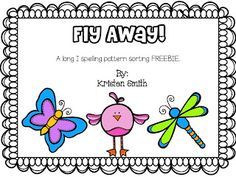 A day in first grade: Fly Away (FREEBIE) Long I word sort
