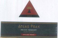2008 Atlas Peak Petit Verdot Atlas Peak Mtn 750 mL