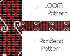 Hey, I found this really awesome Etsy listing at https://www.etsy.com/listing/558299180/beaded-loom-bracelet-pattern-pdf-seed