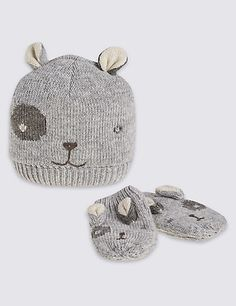 Kids' Dog Novelty Hats & Gloves Sets | M&S