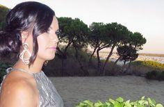 Look de invitada a una boda de verano.Peluquería y maquillaje: Patrizia Robel.