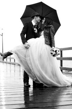Pier Rainy Wedding, Beauty, Dresses, Fashion, Beleza, Gowns, Moda, La Mode, Cosmetology