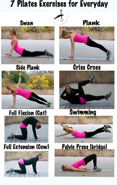 7 Pilates Exercises for Everyday