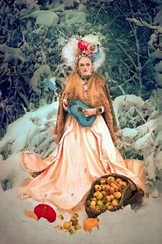 Olga Valeska: Comment Snegourotchka annonça l'hiver