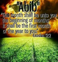 The New Year is in the Spring, not January!!! Follow God and not Babylon the Great.