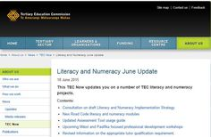 https://www.pathwaysawarua.com/  Literacy and numeracy modules about the NZ Road Code http://www.tec.govt.nz/About-us/News/TEC-Now/Literacy-and-Numeracy-June-Update/ …