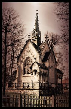 gothic church > reminds me of the Addams family house