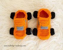 Ravelry: Monster Truck Slippers pattern by Melody Rogers