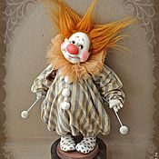 Куклы и игрушки ручной работы. Ярмарка Мастеров - ручная работа Клоун-Толли. Handmade.
