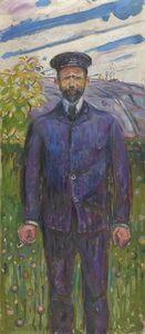 Ludvig Ravensberg - (Edvard Munch)