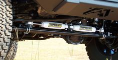 Superlift High Clearance Dual Hydraulic Steering Stabilizer Kit | Jeep Parts and Accessories | Quadratec