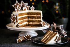 NOMU's super easy Gingerbread Cake Layer Cake Recipes, Gingerbread Cake, High Tea, Super Easy, Waffles, Good Things, Breakfast, Ethnic Recipes, Desserts