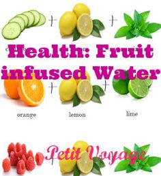 Salud: Aguas Saborizadas