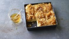 BBC - Food - Recipes : Old rag pie by Nigella Lawson (I made this today and it is delicious! Top Recipes, Greek Recipes, Cooking Recipes, Light Recipes, Greek Desserts, Cooking Pork, Brunch Recipes, Breakfast Recipes, Feta