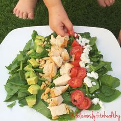Tangy Dijion Chopped Chicken Salad