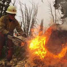 Wildland Firefighter Captures the Beauty Of The Outdoors And The Danger Of The Flames. Firefighter Paramedic, Wildland Firefighter, Smokey The Bears, Wild Fire, Fire Apparatus, Lightning Strikes, Hot Shots, Photo Art, Cool Photos