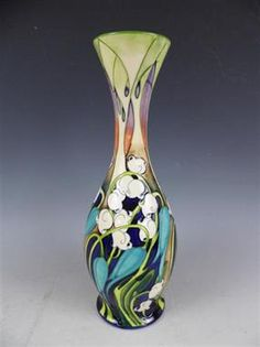 A Moorcroft Kali Zoe limited edition baluster vase, by Emma Bossons, 2004