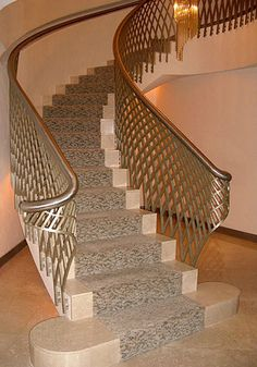 Professionals in staircase design, construction and stairs installation. In addition EeStairs offers design services on stairs and balustrades. Staircase Railing Design, Staircase Handrail, Steel Stairs, Steel Railing, Steel Balustrade, Flooring For Stairs, Front Door Design, Interior Stairs, House Stairs