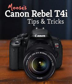 Canon T4i Tips...
