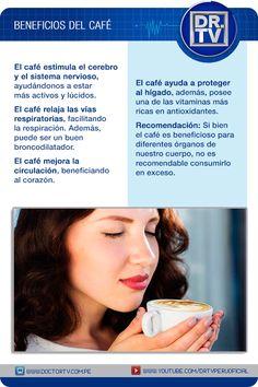 Descubra los beneficios del café para nuestra salud.