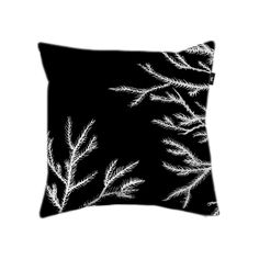 """Pillow cover """"Seaweed Fronds on Black"""" €19.99"""