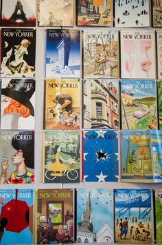 New Yorker covers / The New Yorker art editor Françoise Mouly on what makes an unforgettable cover / It's Nice That
