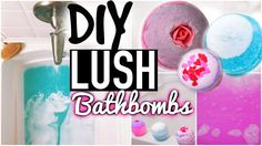 awesome bath bomb recipe to try!! you can substitute citric acid for lemon or half cream of tartar