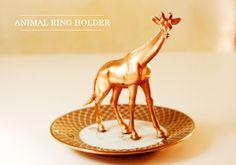 Animal Ring Holder #howto #tutorial