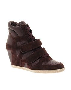#Asos - Ash Bea Wedge Trainers