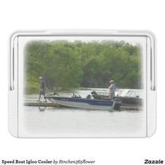 Speed Boat Igloo Cooler