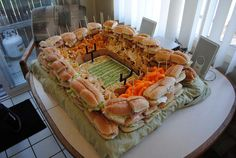snack stadium for the raiders game